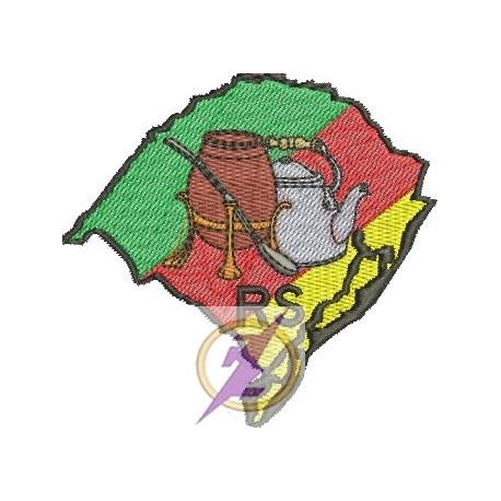 Mapa com Chaleira - Pequeno