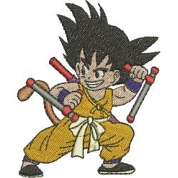 Son Goku 02 - Três Tamanhos