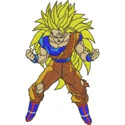 Goku Super Saiyajin 3 - Três Tamanhos