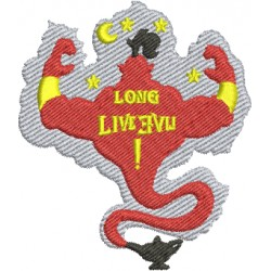 Brasão Long Live Evil 03