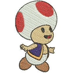 Toad Super Mario