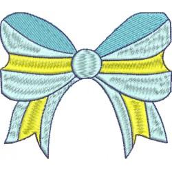 Laço Azul e Amarelo 15
