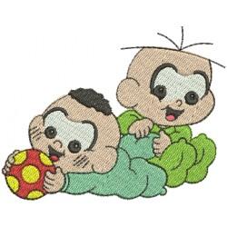 Cascão & Cebolinha Bebê 02
