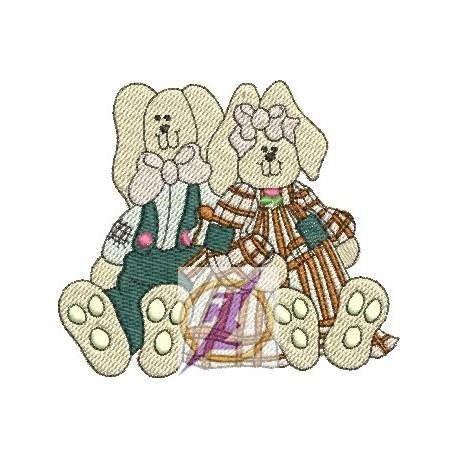 Dois Coelhinhos Sentados