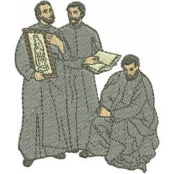 Santos Mártires das Missões - Três Tamanhos