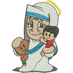 Maria Teresa de Calcutá 02 - Pequeno