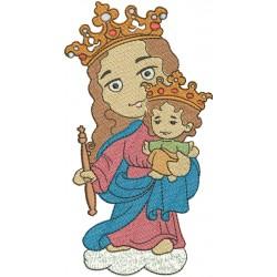 Nossa Senhora Auxiliadora dos Cristãos - Três Tamanhos
