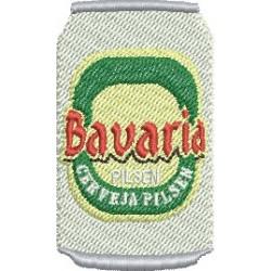 Lata Cerveja Bavaria
