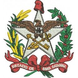 Brasão de Santa Catarina - Pequeno