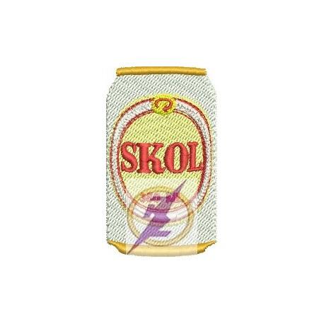 Lata Cerveja Skol