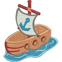 Barco de Brinquedo