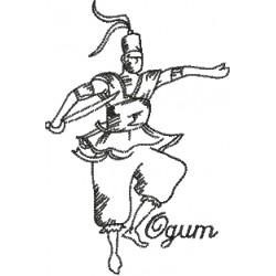 Ogum 02 - Três Tamanhos