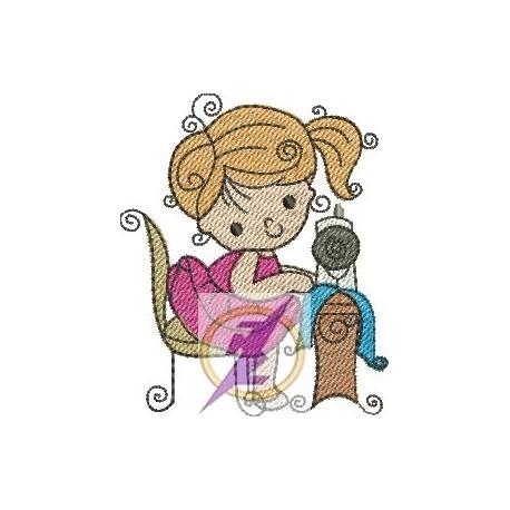 Menina Costureira 01