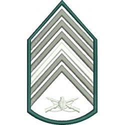 Divisa 1º Sargento Infantaria Sem fundo