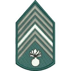 Divisa 1º Sargento Artilharia Com Fundo