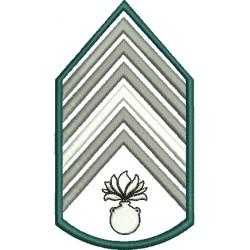 Divisa 1º Sargento Artilharia Sem Fundo