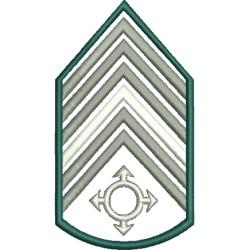 Divisa 1º Sargento Comunicações Sem Fundo