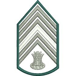 Divisa 1º Sargento Engenharia Sem Fundo