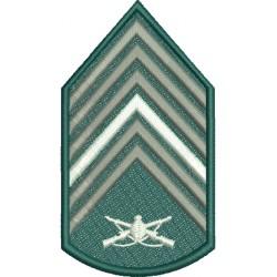 Divisa 1º Sargento Infantaria Com Fundo
