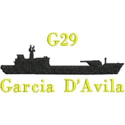 Navio de Desembarque de Carros de Combate G29 - Garcia DAvila