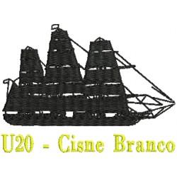 Navio - Veleiro U20 - Cisne Branco