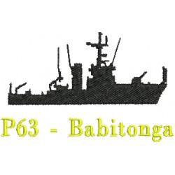 Navios-Patrulha (Classe Bracuí) P63 - Babitonga