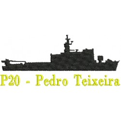 Navios-Patrulha Fluvial (Classe Pedro Teixeira) P20 - Pedro Teixeira
