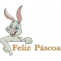 Feliz Páscoa 02 - Grande