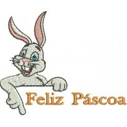 Feliz Páscoa 02 - Pequeno