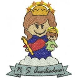 Nossa Senhora Auxiliadora 02 - Três Tamanhos