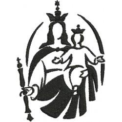 Nossa Senhora Auxiliadora 04 - Três Tamanhos