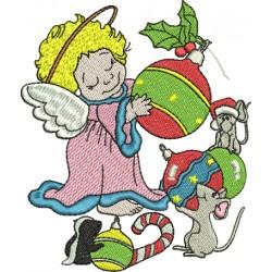 Anjinho de Natal - Médio