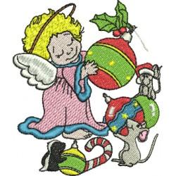 Anjinho de Natal - Pequeno