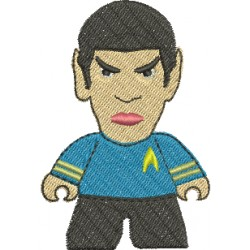 Spock 01 - Três Tamanhos