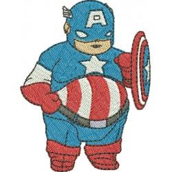 Capitão América Gordo