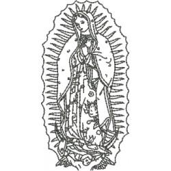 Nossa Senhora de Guadalupe 01 - Três Tamanhos
