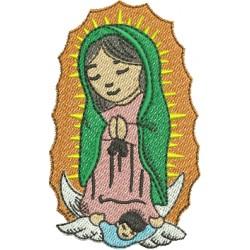 Nossa Senhora de Guadalupe 02 - Três Tamanhos