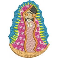 Nossa Senhora de Guadalupe 04 - Três Tamanhos