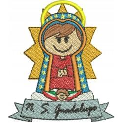 Nossa Senhora de Guadalupe 06 - Três Tamanhos