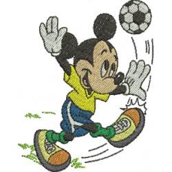 Mickey Futebol - Três Tamanhos