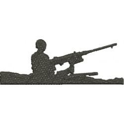 Soldado no Tanque de Guerra - Pequeno