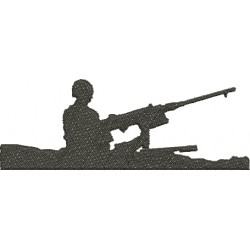 Soldado no Tanque de Guerra - Médio
