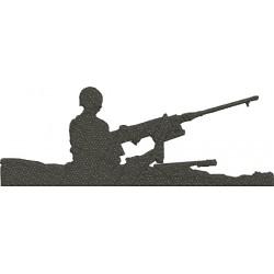 Soldado no Tanque de Guerra - Grande