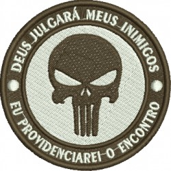 Pacth Justiceiro - Pequeno