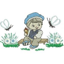 Menininho com Flores 02
