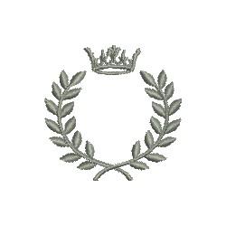 Coroa com Louros Cheia